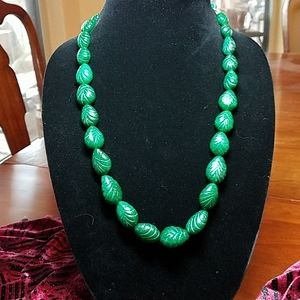Genuine Emerald necklace